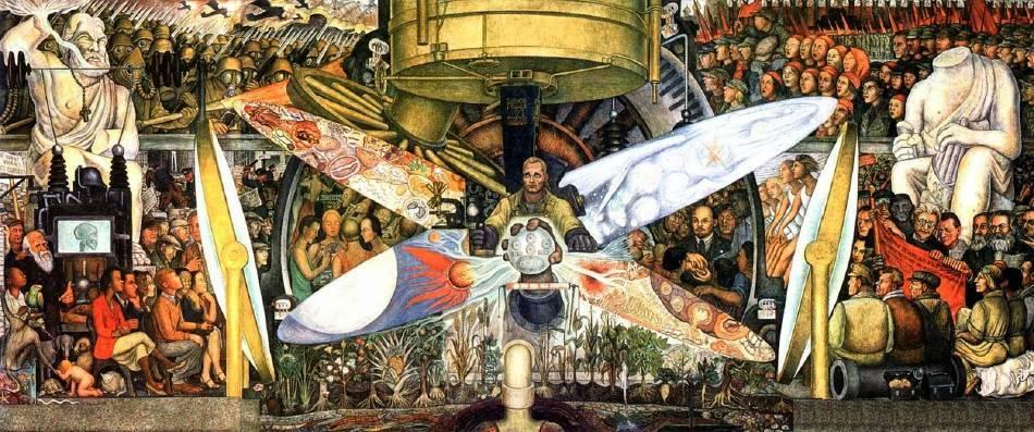 迪亞哥•里維拉《人類在歷史轉折點》。