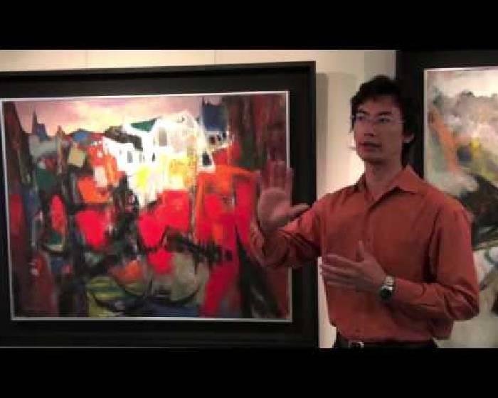 朝代畫廊: 張培均 開幕花絮影片