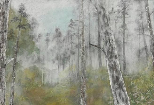 2001,膠彩畫,80x117cm