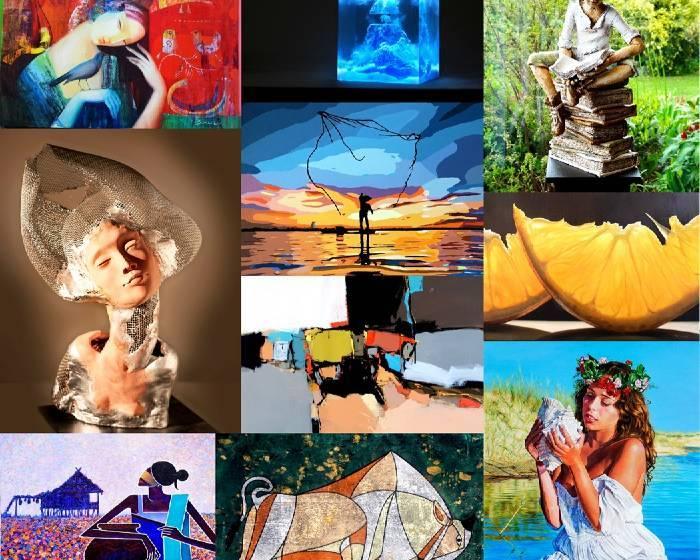 台北新藝術博覽會【亞洲年度藝術大賽「2017國際藝術家大獎賽」】175位藝術家266件作品入圍