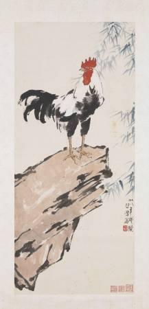 民國徐悲鴻雞