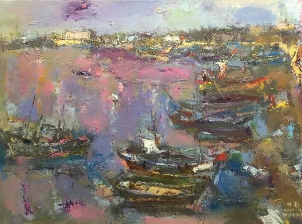 賴威嚴 25F 油畫