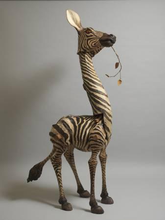 指鹿為馬NO.4-73×84×186cm-樟木、杉木、紅檜、扁柏、生漆-2016