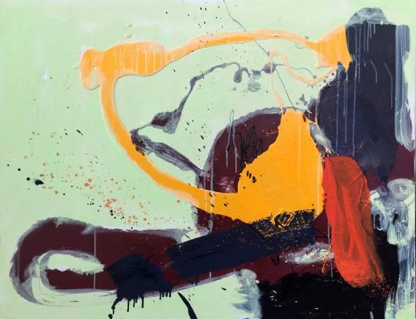 2013 心靈深處 90X116cm (50F) 油畫