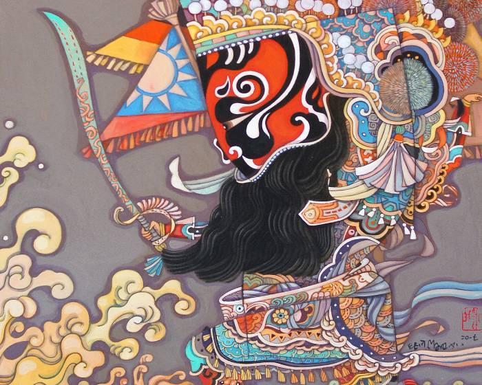 唐灣藝術中心【 如式觀  】2017  陳盈如藝術創作個展