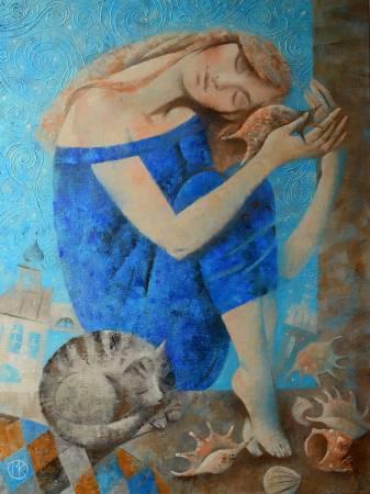 藝術家:Kniazeva Maria 作品名稱:Dreams about sea