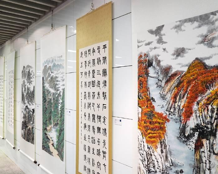 國立公共資訊圖書館【書香.墨香】臺中二中師生書畫聯展