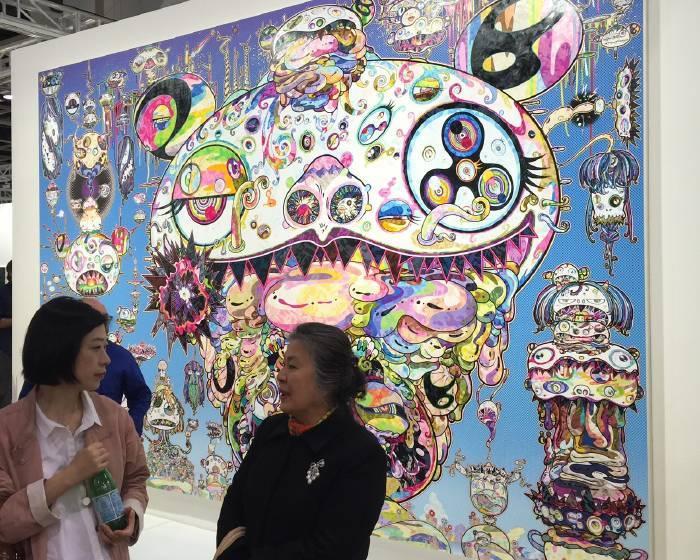 2017香港巴塞爾-國際重量級畫廊現場