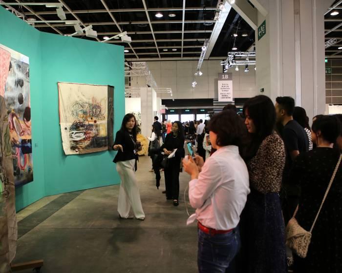 2017香港巴塞爾特別企劃- 佩斯畫廊Pace Hong Kong