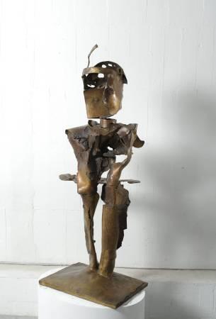 山人  Hermit 68x48x147cm,Bronze,2016
