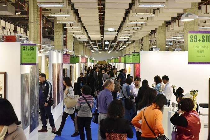 「2017台北新藝術博覽會」即日起至4月17日台北世貿三館展出,歡迎民眾把握機會參觀。