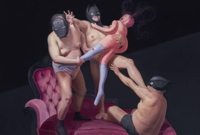 李承道LEE Chen Dao|英雄本色III|145x112cm|Oil on canvas油彩、畫布|2016