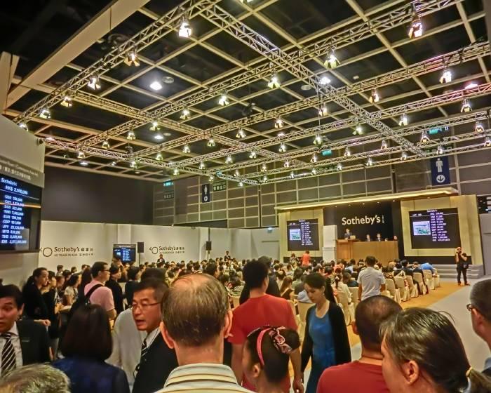 香港蘇富比秋拍 總成交158億