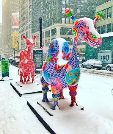 紐約地景環境裝置 洪易 駱駝