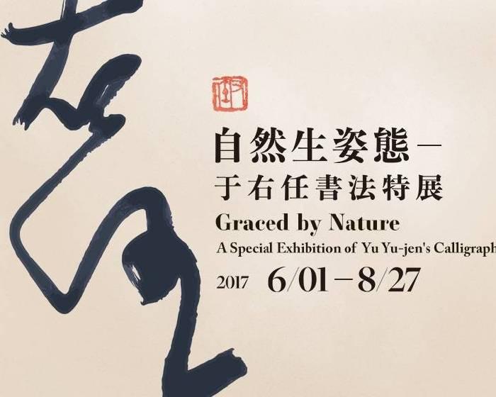 國立故宮博物院【自然生姿態-于右任書法特展】漢字藝術的黑白、點線之美
