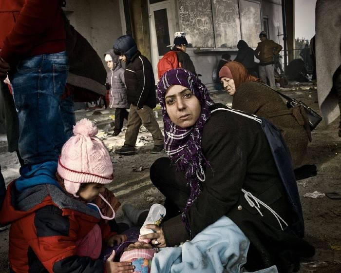 拍攝東歐難民潮 張雍鏡頭記錄人生無奈