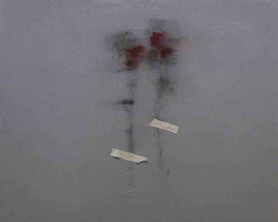 宋曉明 我與你 72.5x91 cm 油彩畫布 2011