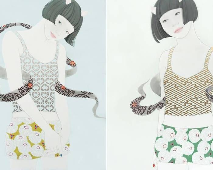 金魚空間【蒼野甘夏 日本畫展】Amanatsu AONO Painting Exhibition