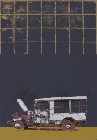 賴振輝 Lia Cheng Hui・物盡其用・54x37.5cm・併用版Combined Techniques・1981-2015
