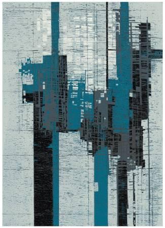 徐明豐 Hsu Ming Feng・景觀空間之二・37.3x53cm・木刻版・2015