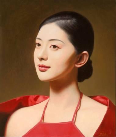 《大民国-玫瑰香》  50X60CM   2016   Oil on Canvas