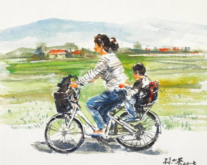 福華沙龍【探索臺灣之美─城與鄉】孫少英水彩展