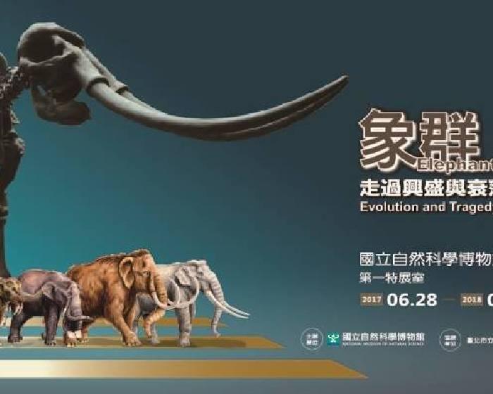 國立自然科學博物館【象群-走過興盛與衰落的陸地巨獸特展】原來大象懷孕時間有21個月!
