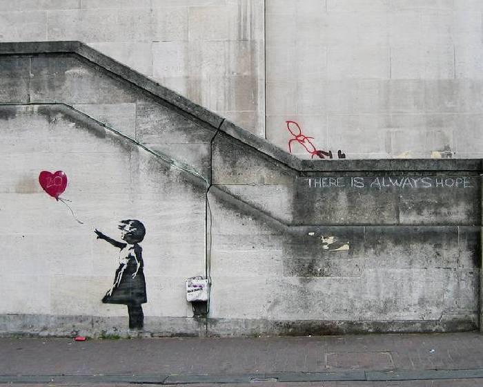 班克斯〈氣球女孩〉登英國人最愛藝術品冠軍