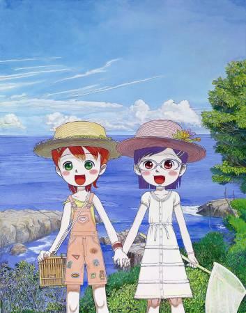 密斯特 Mr  Hiromi and Nau's Summer 117.5x91.5cm 2007 壓克力彩 畫布 Acrylic on canvas