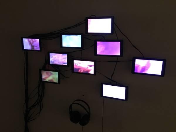 黃盟欽,身體景觀,2016,裝置與新媒體