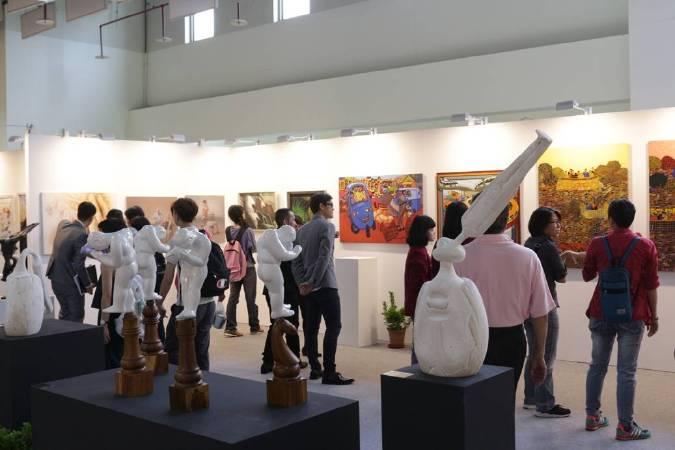 「2018國際藝術家大獎賽」首獎一名可獲第九屆台北新藝術博覽會兩個展位。