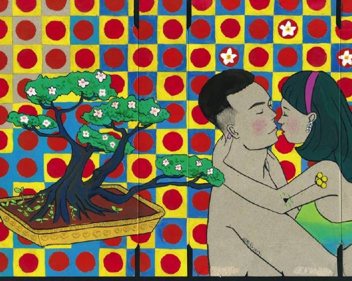 荻達寓見:【長鏡頭的荒謬世間情】倪瑞宏、陳渝諺雙人創作展「真愛之吻」