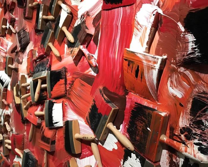 北美館館藏作品選 阿曼ARMAN<單彩紅色>搶先看