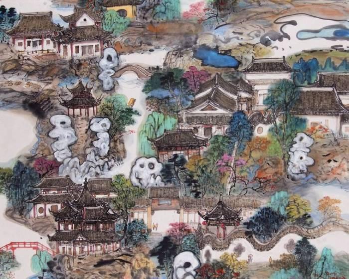 宏藝術 陳朝寶彩墨個展 傳統繪畫中的現代創新