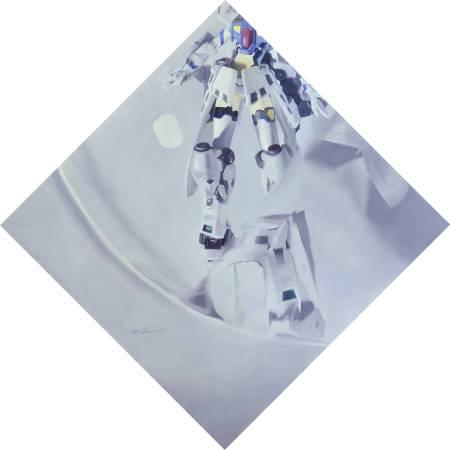 絕對領域 II ・ 油彩畫布 oil on canvas・ 30×30 cm ・2014