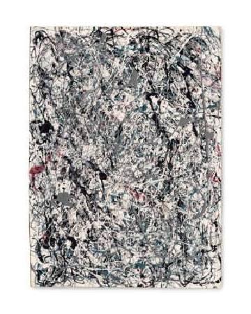 波洛克(Pollock)《Number 19》(1948)