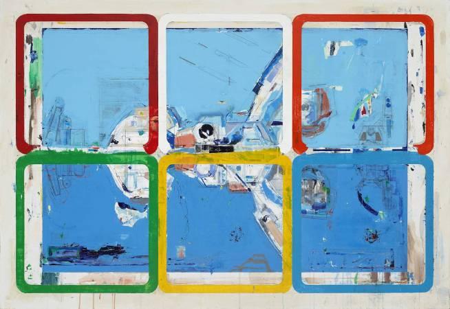 陳建榮, Aircraft 16 Mixed media, acrylic on canvas 複合媒材、壓克力、畫布, 112×162 x 3cm, 2016