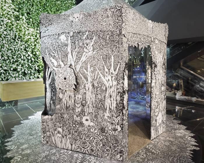 勤美文創【隱身於都市中的秘境森林】藝術五重奏-第一樂章夢境之森