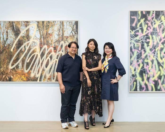 尊彩藝術中心 許常郁個展 森林本質的描繪-具象與抽象間的結合