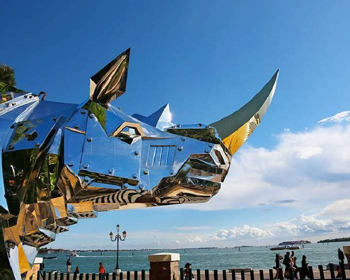 中悅建設開發股份有限公司【威尼斯雙年展台灣同步展-「金鋼再現 生生不息」施力仁雕塑展】