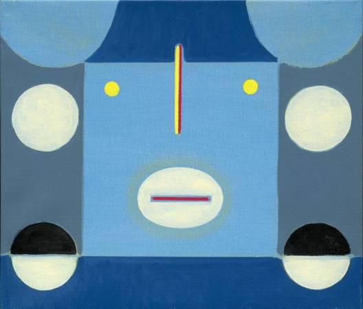 霍剛  抽象2013-004  53x46cm 油彩、畫布 2013