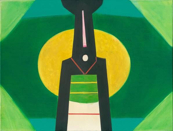 霍剛  開展之5-98x130cm油彩、畫布 2009