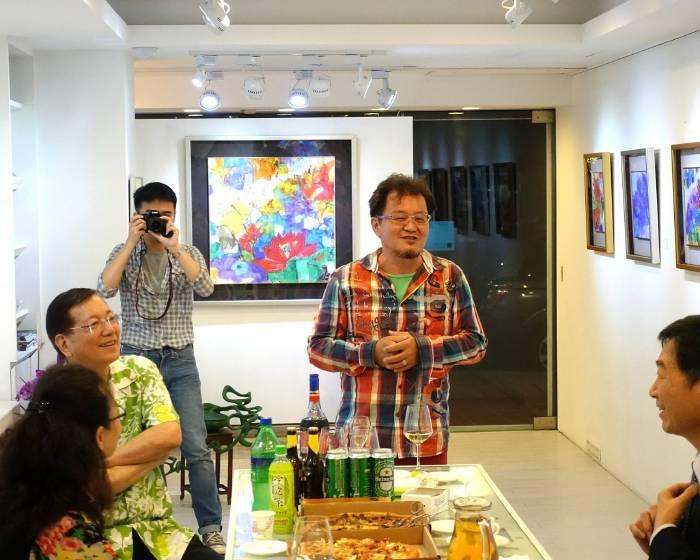 博藝畫廊 寫意也寫心 「穠華浪蕊」白丰中個展
