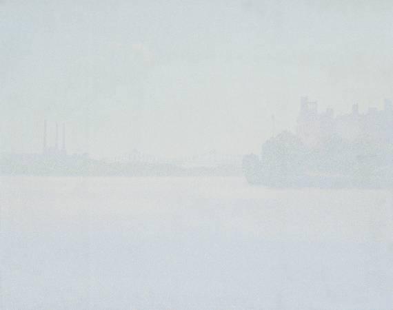 韓湘寧_紐約環河-1_122x152cm_油彩、畫布_1971