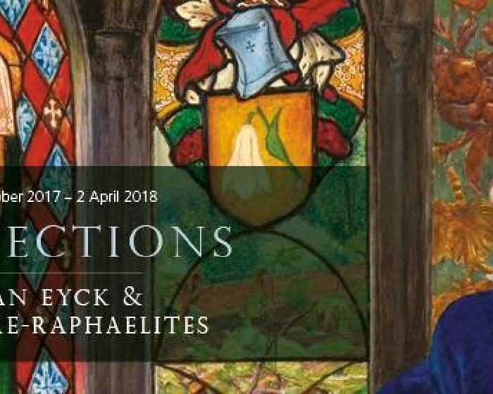 英國倫敦國家美術館【解構揚.范.艾克《阿爾諾非尼夫婦》】Reflections: Van Eyck and the Pre-Raphaelites