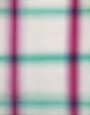 黃敏俊 光・線 91x72.5cm 2017 油彩 畫布