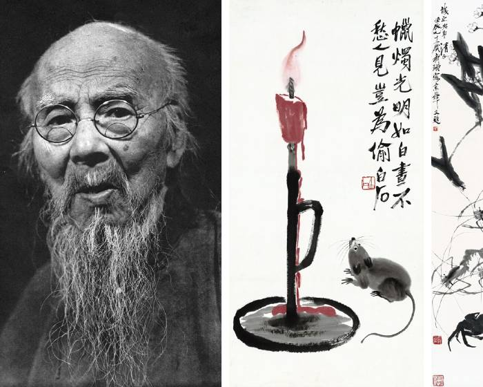 【近現代經典大師系列】民間主題繪畫集大成者:齊白石