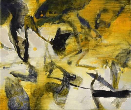 周宸Chou Chen,寫逸Leisure,油畫Oil on canvas,27x35 cm 5F,2017