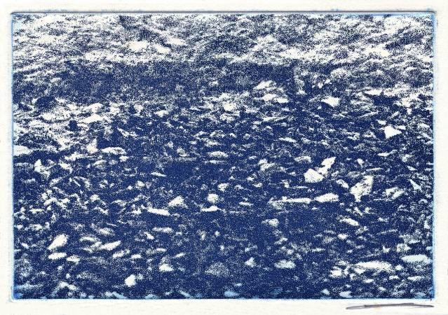 Jo Hsieh None-Space T32 2001 21.5x15cm 照相腐蝕版畫、紙