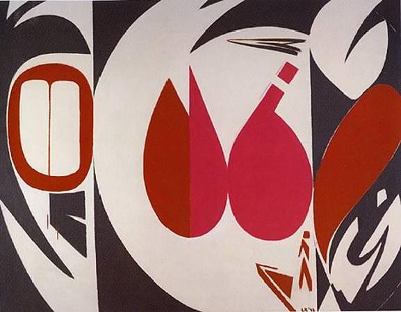 克拉斯納《謎團》(Mysteries),1972。